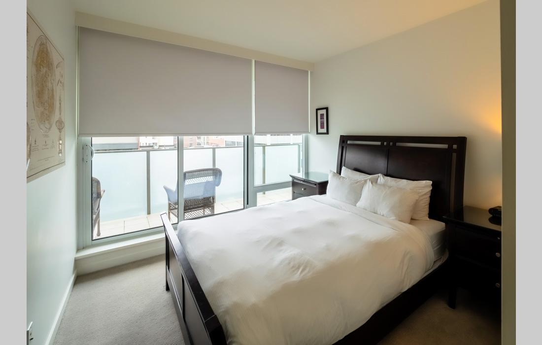 Falls 606 bedroom with open window
