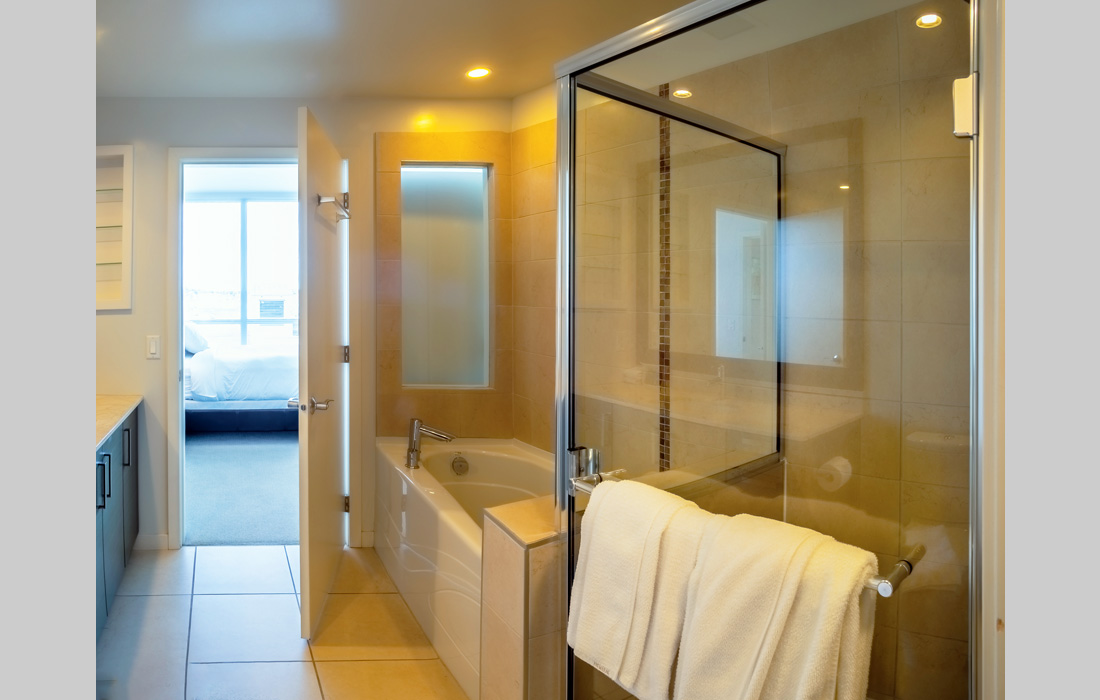 Synergy 407 master bathroom
