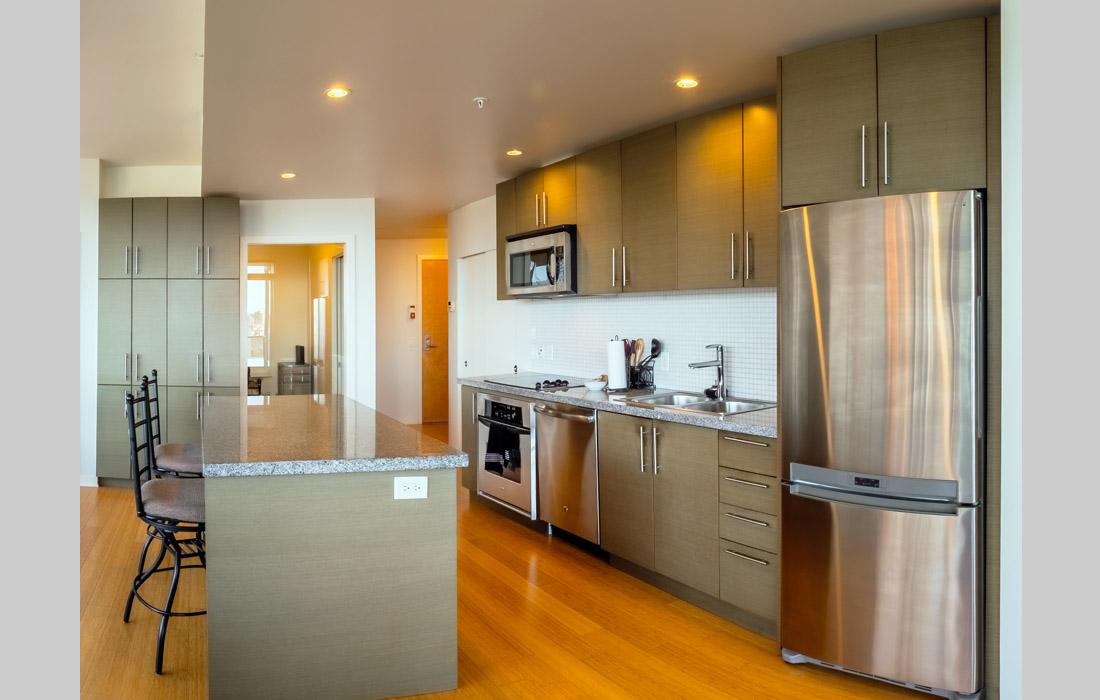 Synergy 407 kitchen