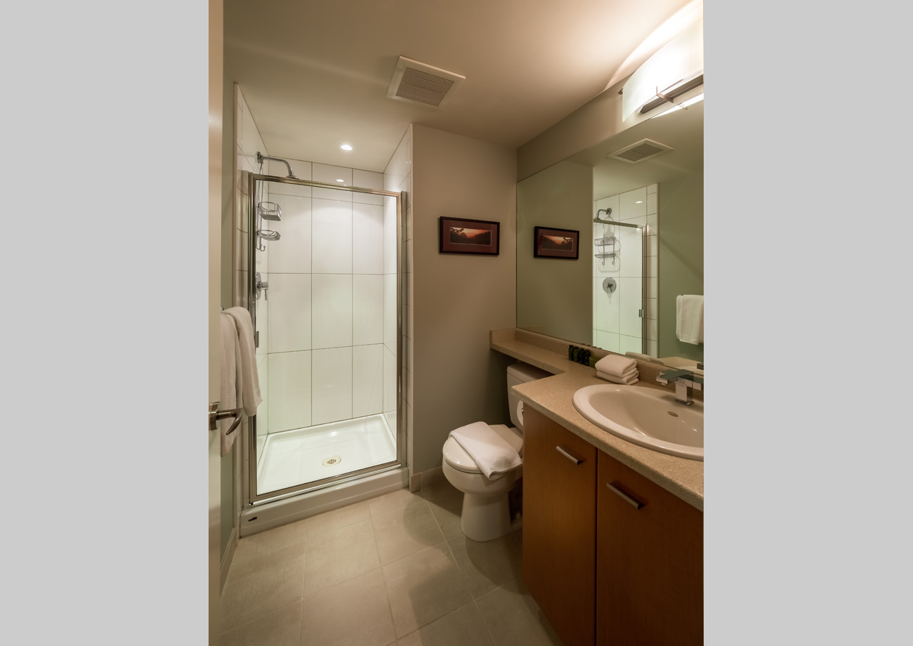 two bedroom, two bath suite Victoria bc