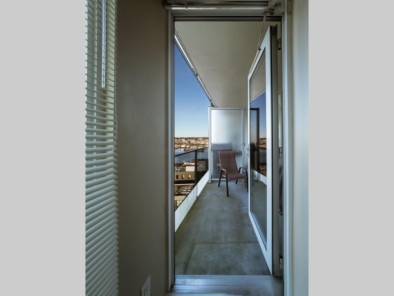 condo balcony