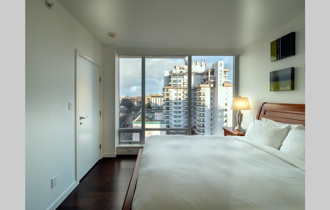 Falls 1402 master bedroom view