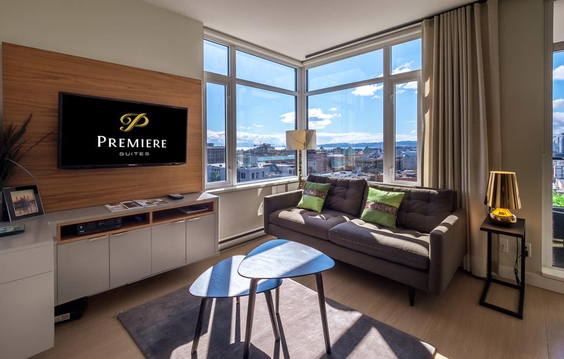 Executive condo living room