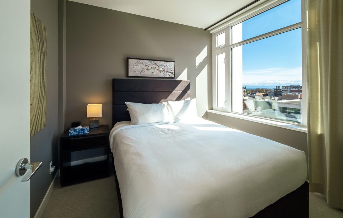 Executive condo master bedroom