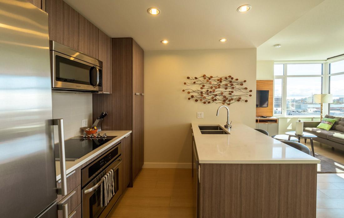 Executive condo kitchen