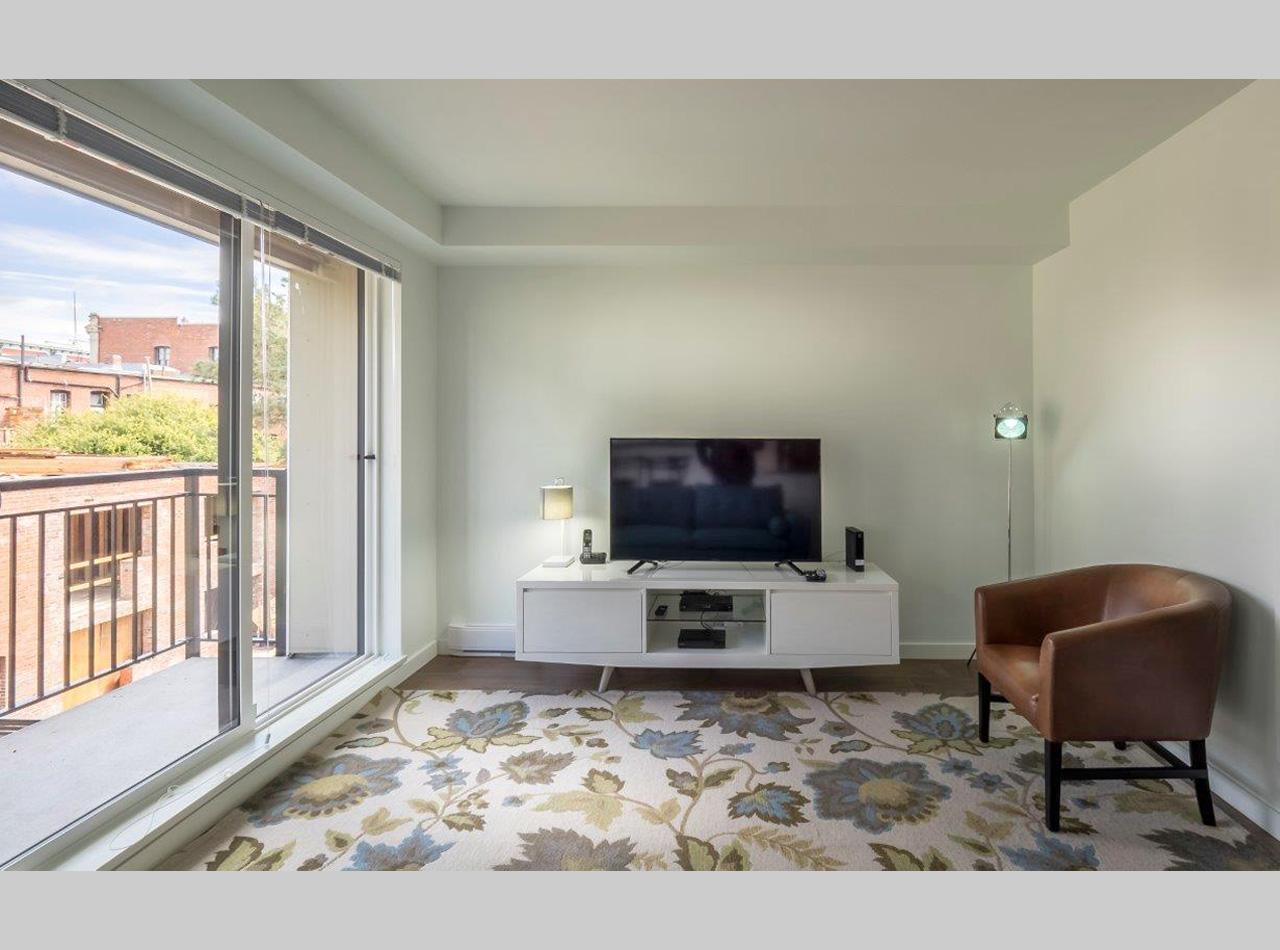living room flatscreen TV