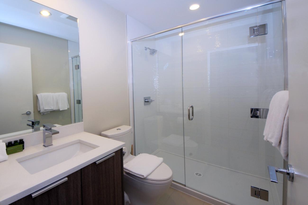 Era condo bathroom standup shower