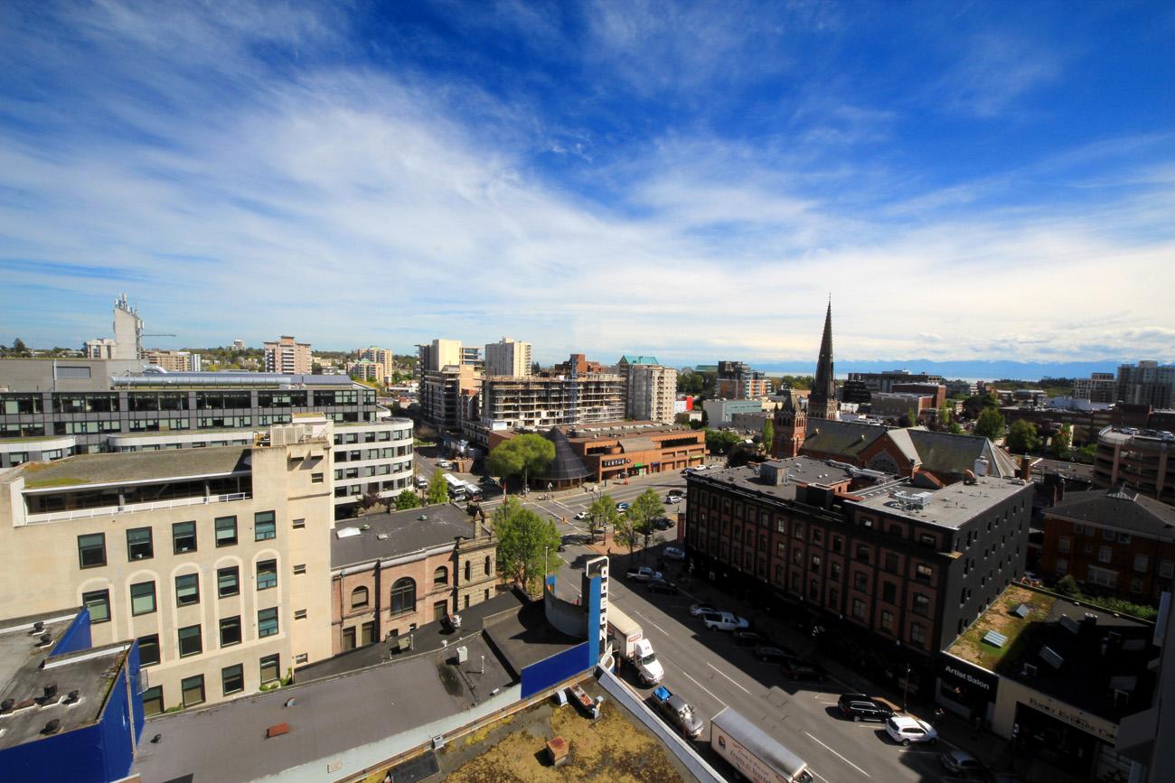 View from Era condo in Victoria