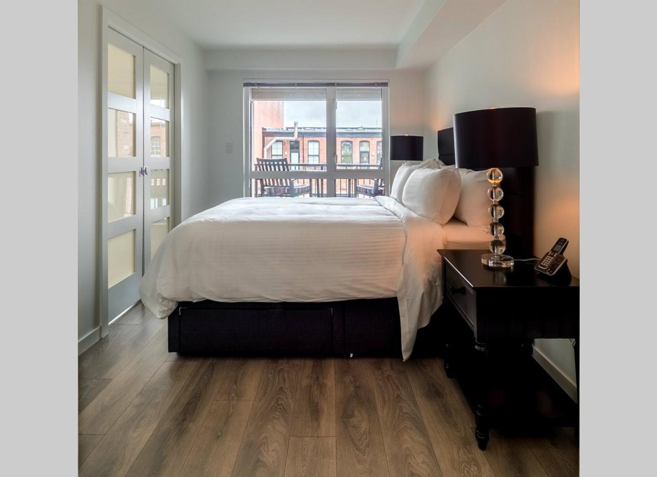 Union modern suites Victoria bedroom