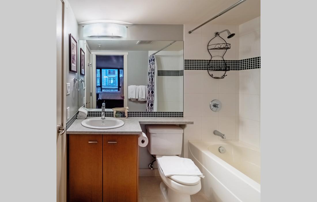 Astoria condo bathroom