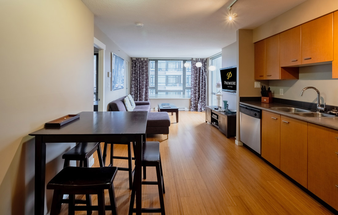 Astoria condo executive rental Victoria BC