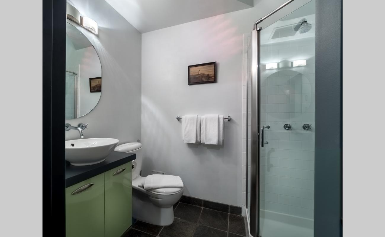 Victoria townhouse bathroom