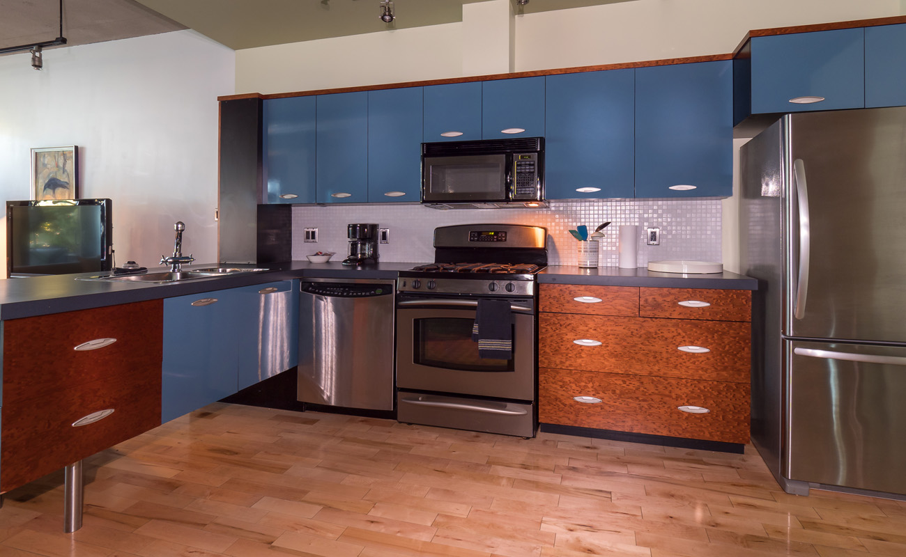 Victoria townhouse kitchen