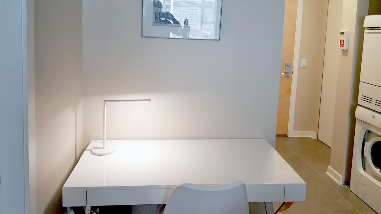 One bedroom suite work station desk rental suite Victoria