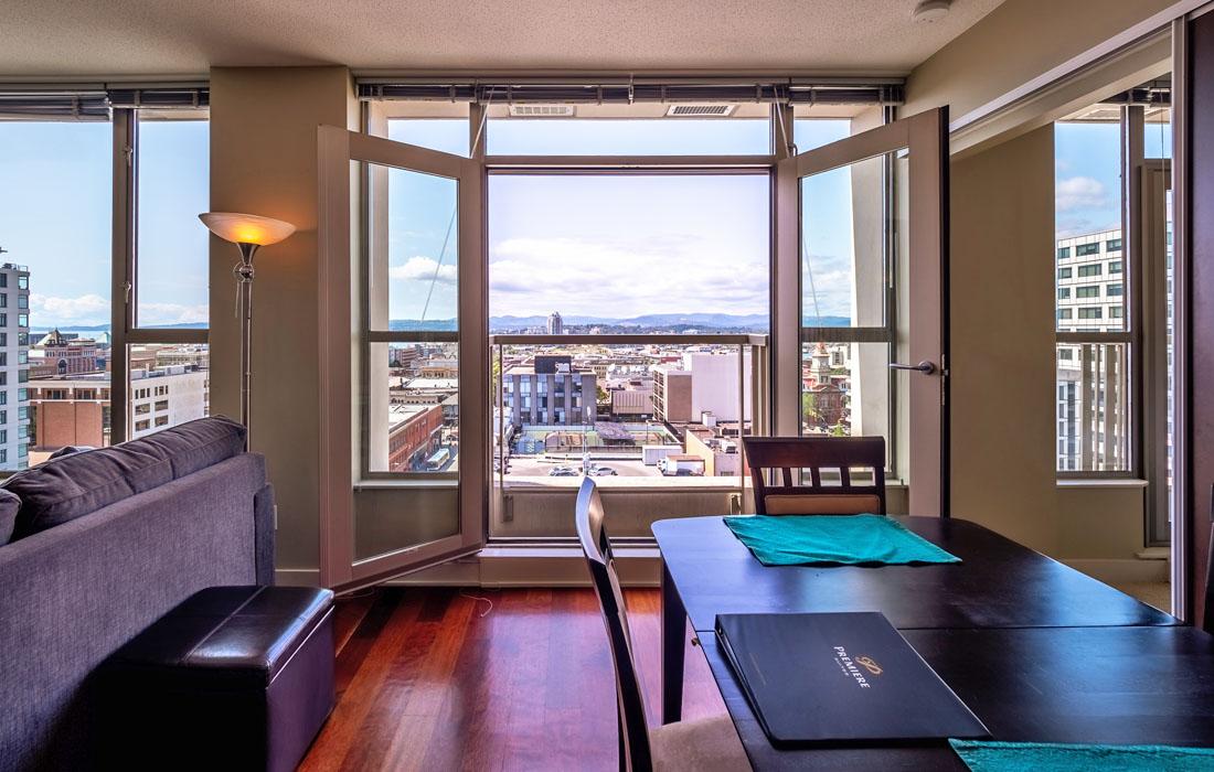 11th floor view from Victoria Condo