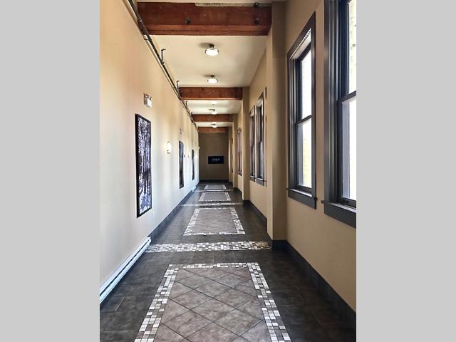 Vogue condos main hallway Victoria