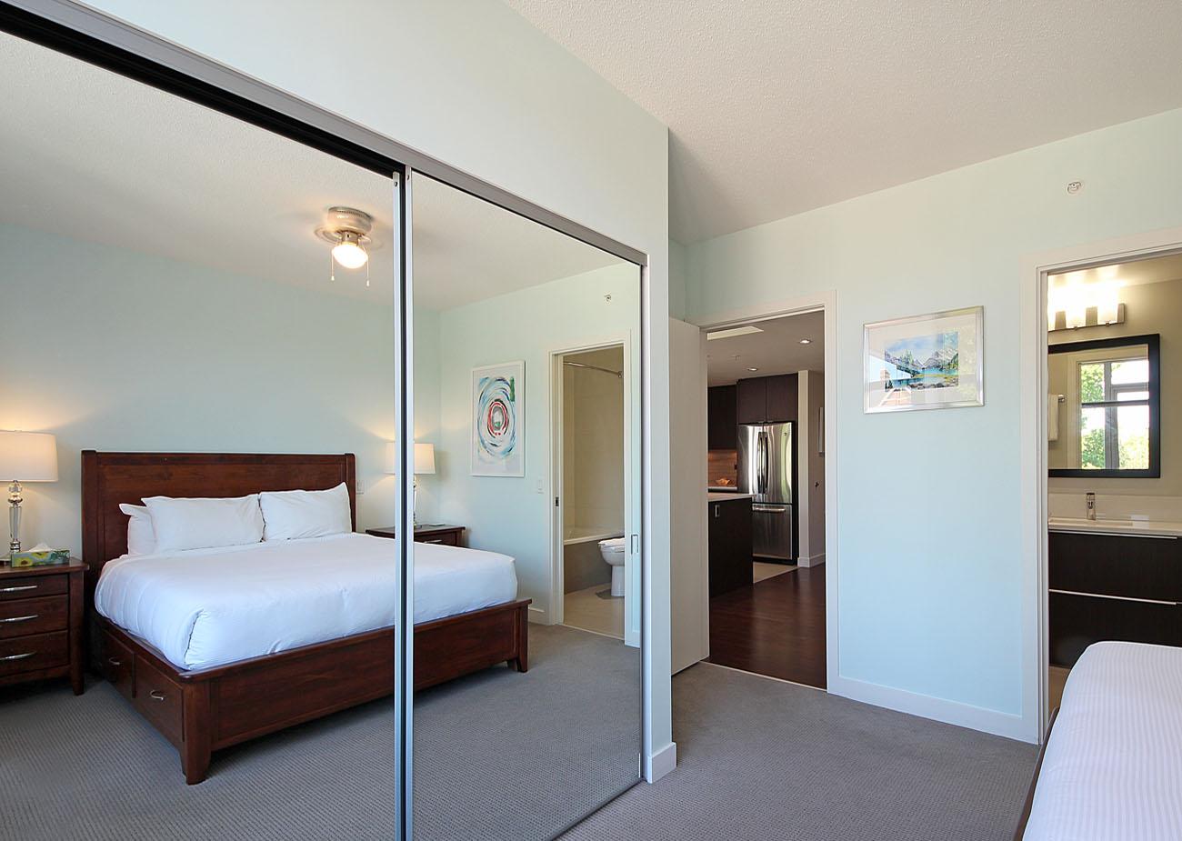 Large closet in queen bedroom