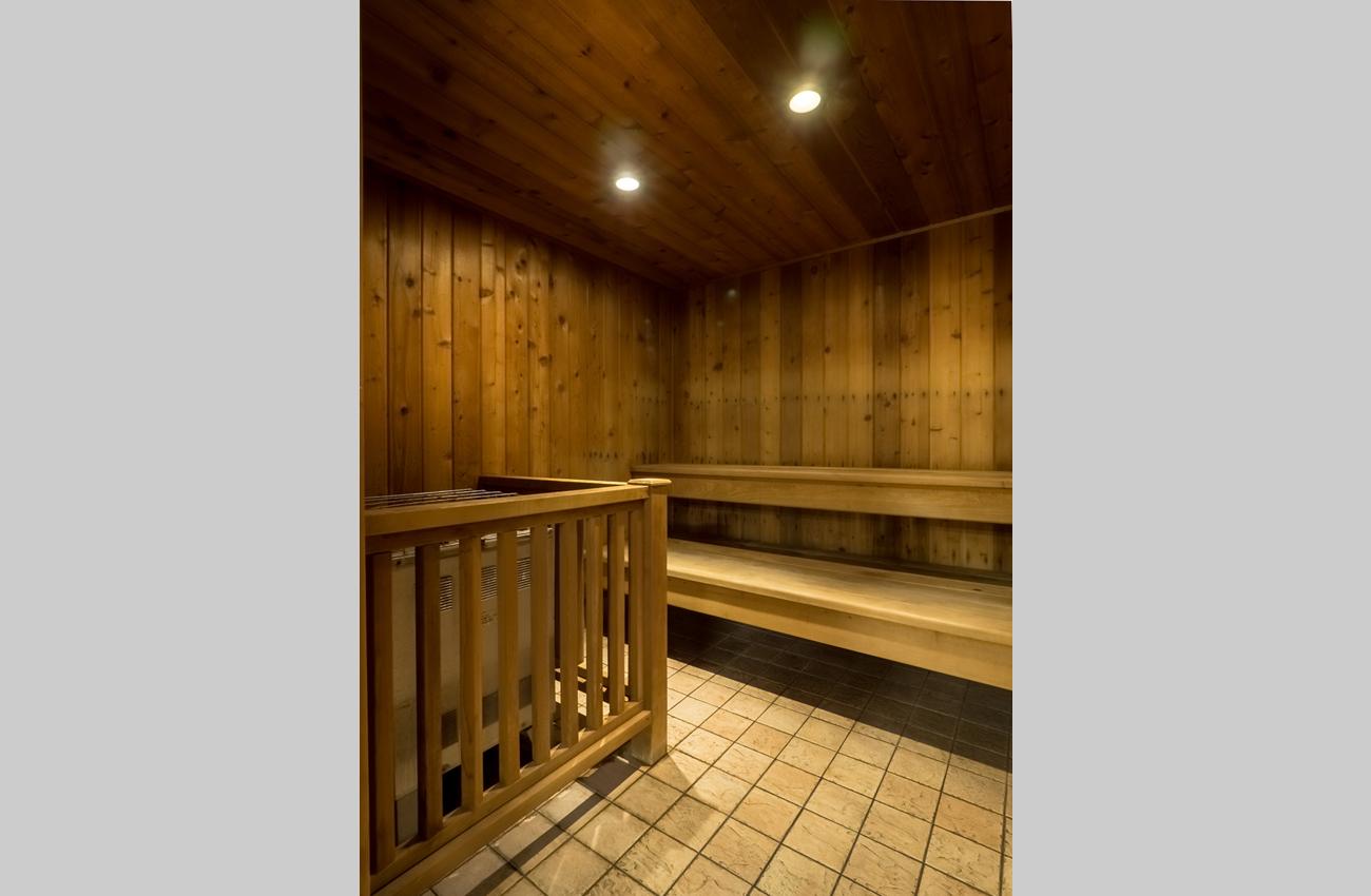 The Q Furnished Apartment sauna