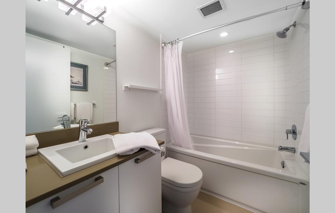Bathroom in Union boutique condo victoria bc