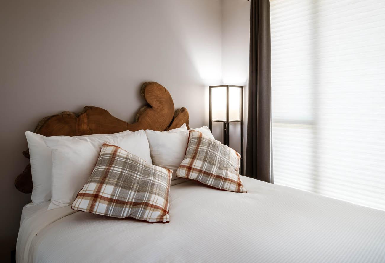 downtown victoria condo queen bed
