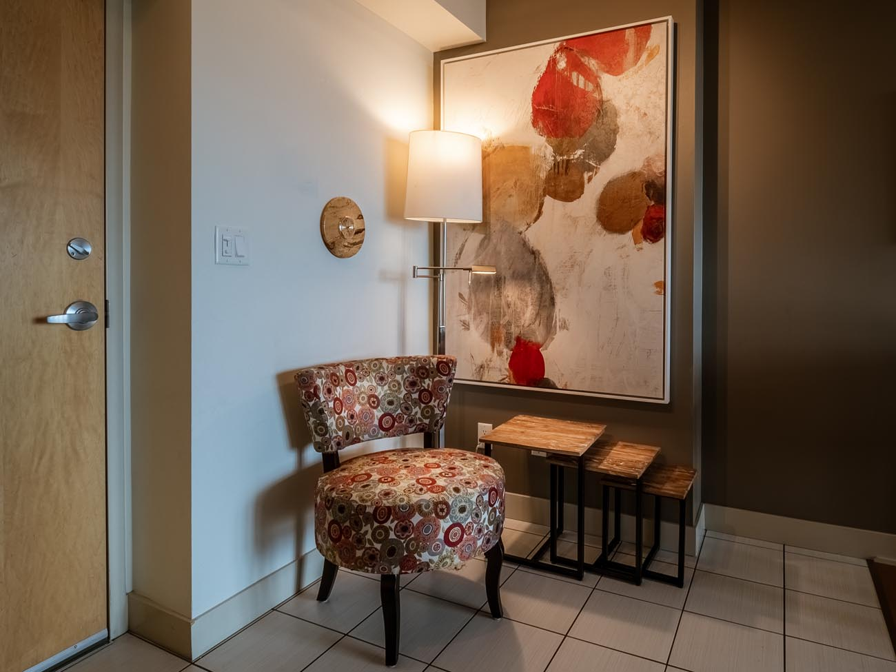 downtown suite entry way
