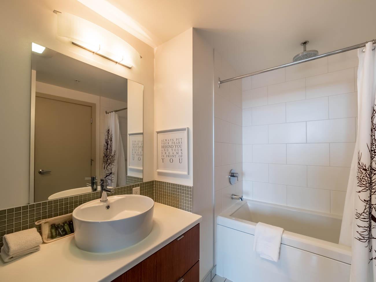downtown suite bathroom