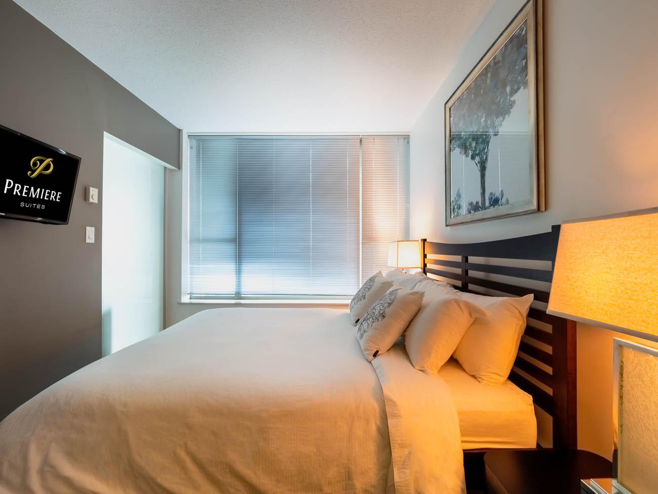 downtown suite bedroom