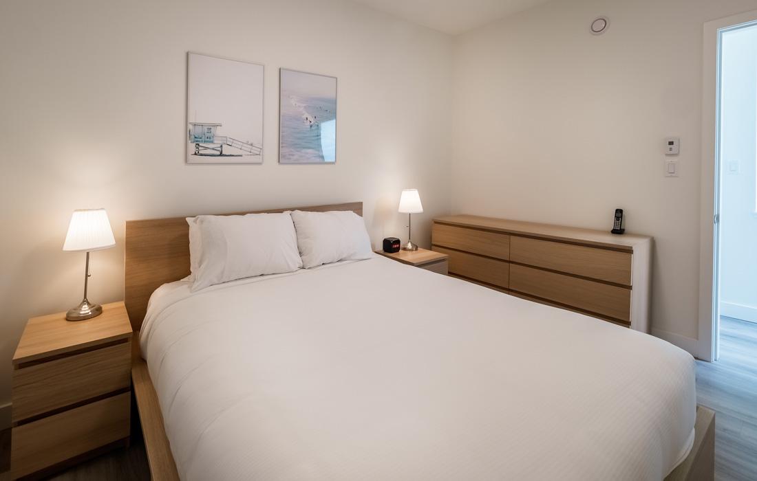Master Bedroom in Fairfield townhouse