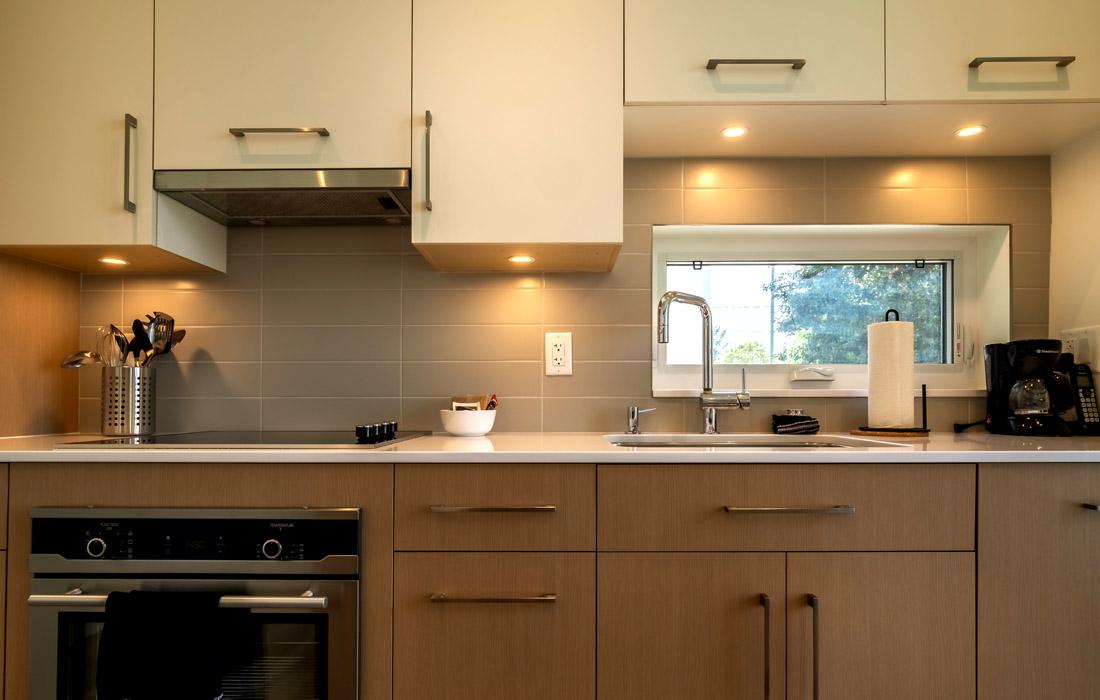 Fairfield townhouse kitchen