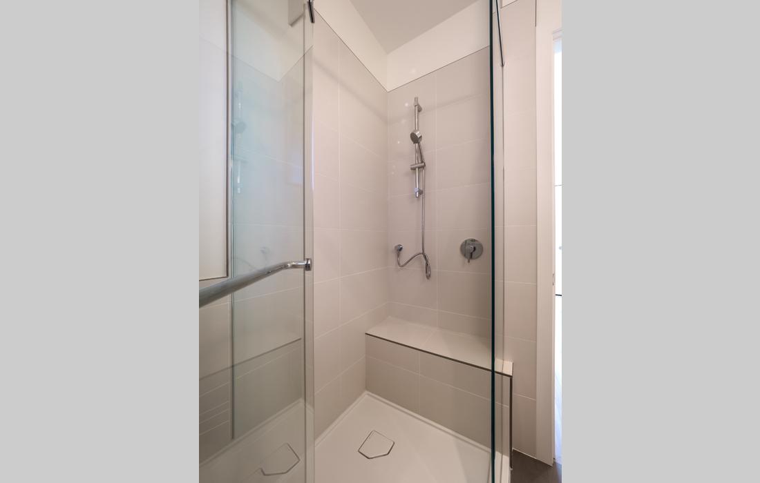 Fairfield townhouse bathroom shower