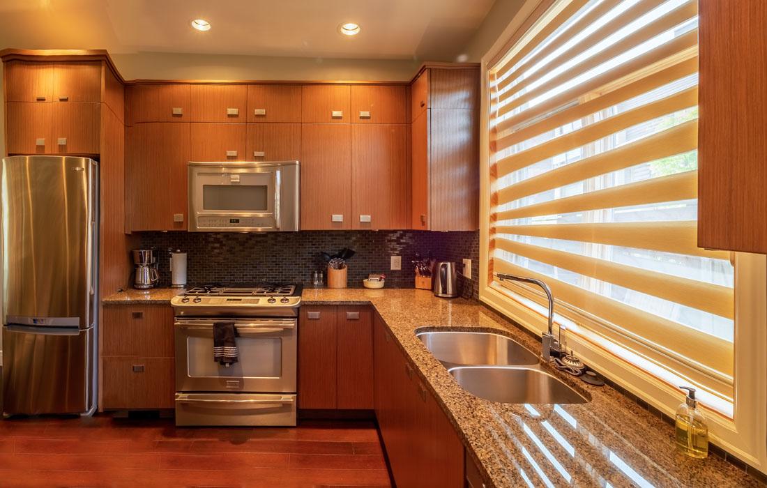 Executive townhouse kitchen
