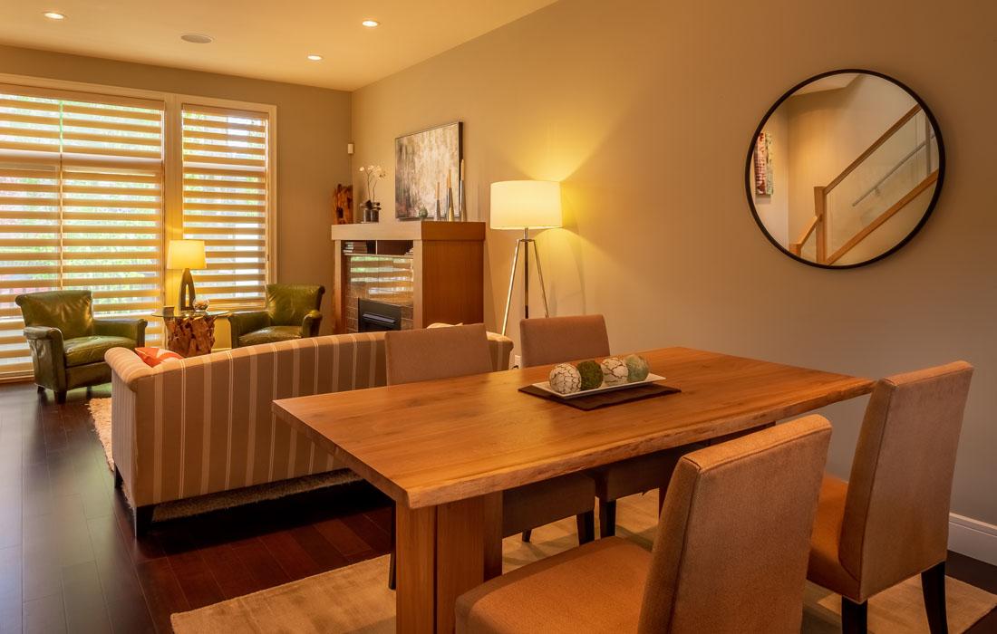 open concept dining living space Terra Verde