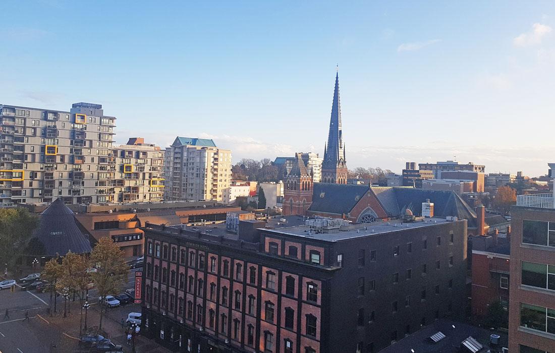 Vibrant Condo View of Victoria