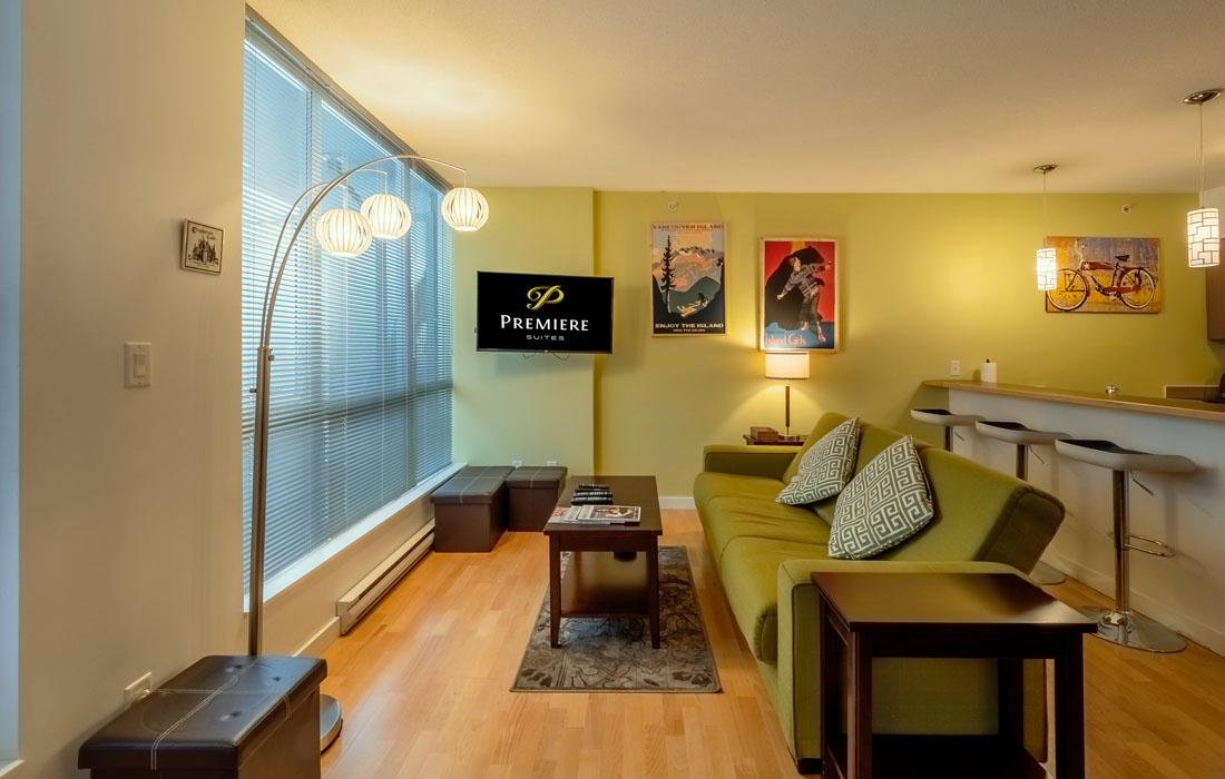 Corazon 205 Studio Living Room