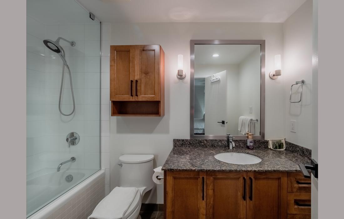 Belvedere 1101 master bathroom